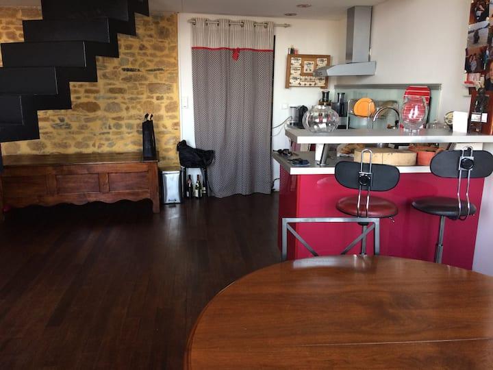 Appartement duplex vue et emplacement uniques