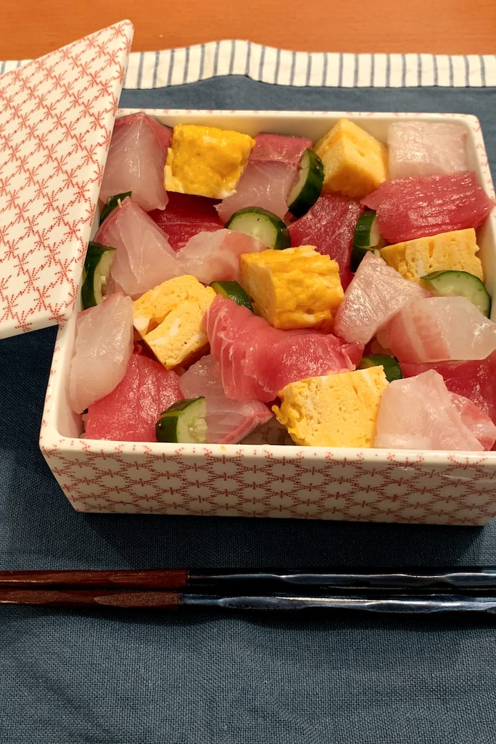 Barachirashi Sushi