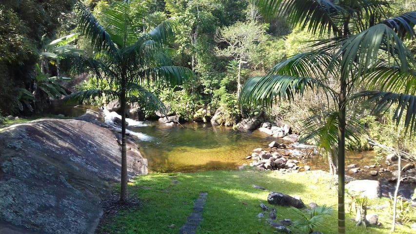 Sítio da Cachoeira - Hospedagem - Resende - Cabana