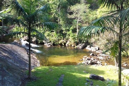 Sítio da Cachoeira - Hospedagem - Resende - Zomerhuis/Cottage