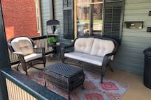 Enjoy the Summer breeze on the front porch!