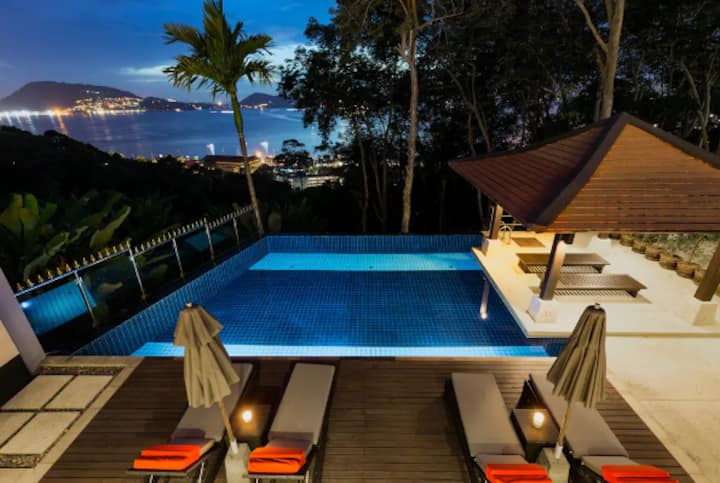 Kalim4-Thai Villa With Amazing Sea View  in Patong