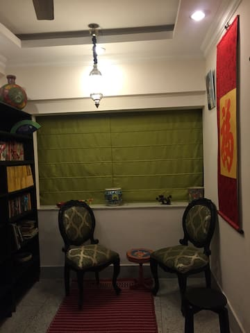 Colorful, cosy, quiet behala pad