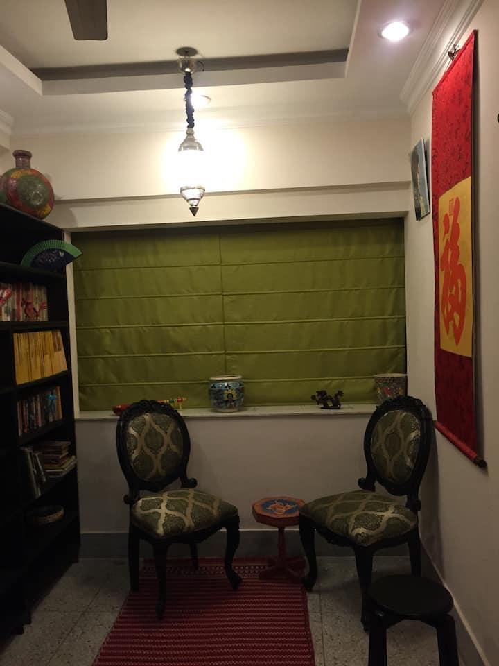 Colorful, cosy, quiet behala pad