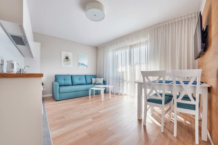 Wczasowa 2 Apartament 113 Deluxe dla 4 osób