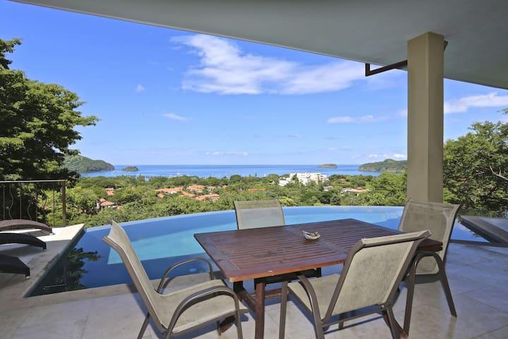 Private Ocean View Villa in Pacifico at Playas del Coco