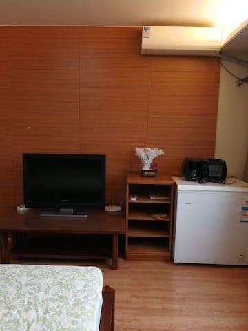 滨海新区大学城的温馨的星级公寓
