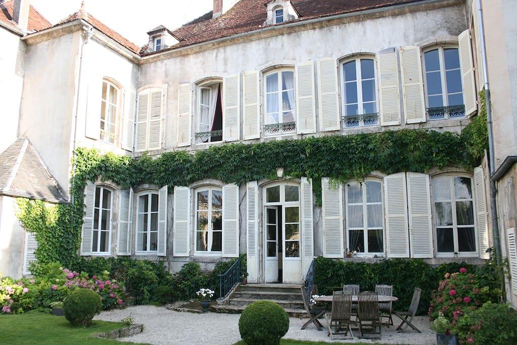 Le jardin de carco chambre opale chambres d 39 h tes - Chambre d hote chatillon sur chalaronne ...