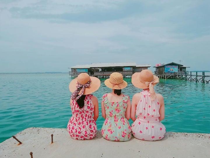 Tidung Lagoon Ocean Resort in Thousand Island