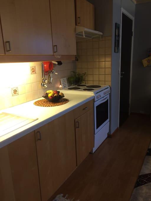 Kjøkken område