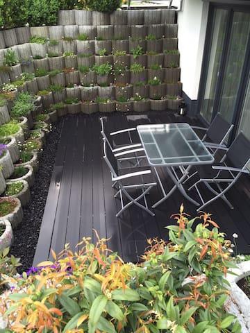 Wohnung in ruhiger Lage mit schöner Terrasse - Oberteuringen - Lägenhet