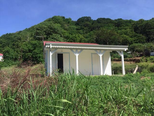 Maison terre de haut guadeloupe