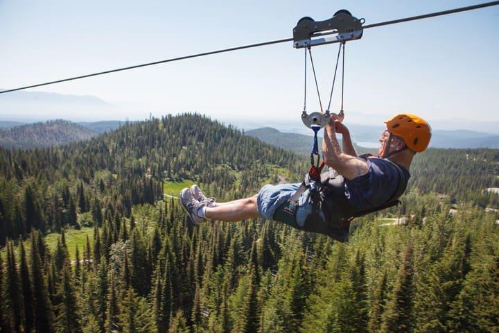 Summer Zip Line Adventures.