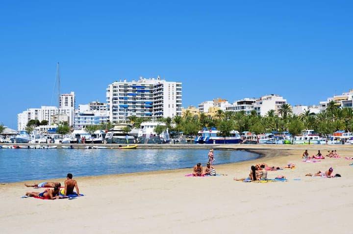Increíble Villa Estilo ibicenco junto a la playa