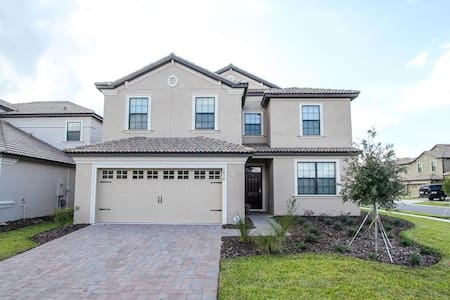 ChampionsGate    6Bed/6Bath Pool Home   Sleeps 12   Gold - RCG627 - Kissimmee