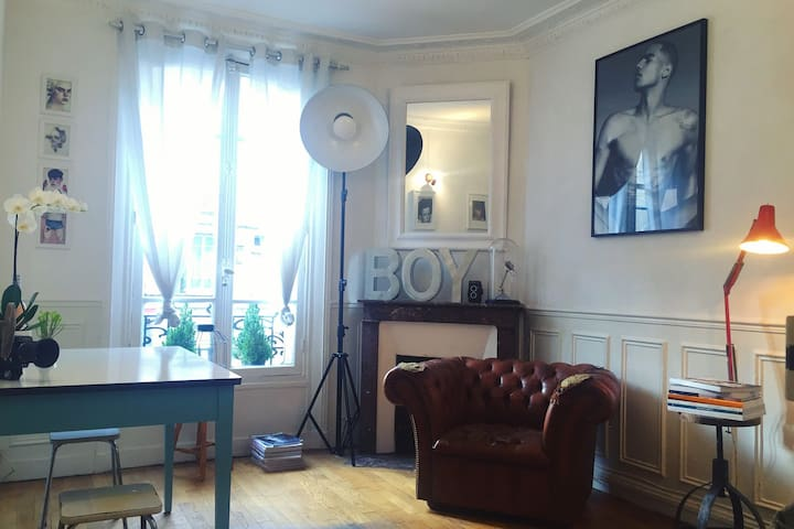 [ Paris - Appartement parisien & cosy 52m2 ] - Clichy