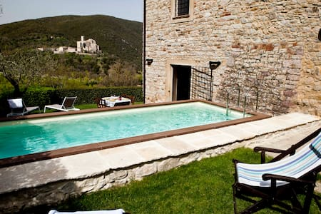 La Ranca, Umbrian Farmhouse for 5. - Perugia - Villa