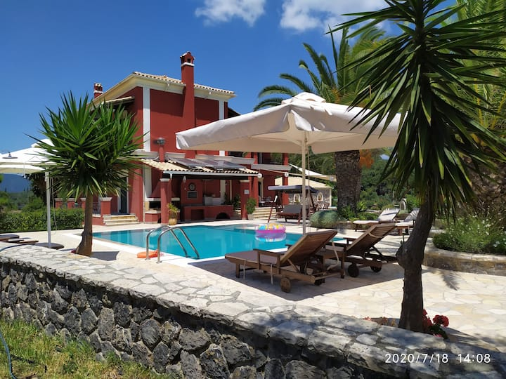 Villa Kerkyra .Absolute privacy,Ideal for  familys