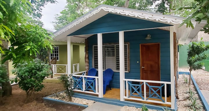Bak a Yaad Sapphire Blue Cottage