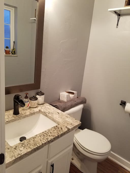 Second of two bathrooms