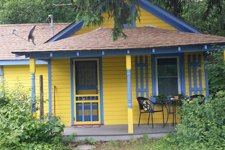 1930's Guest Cottage updated with unique charm