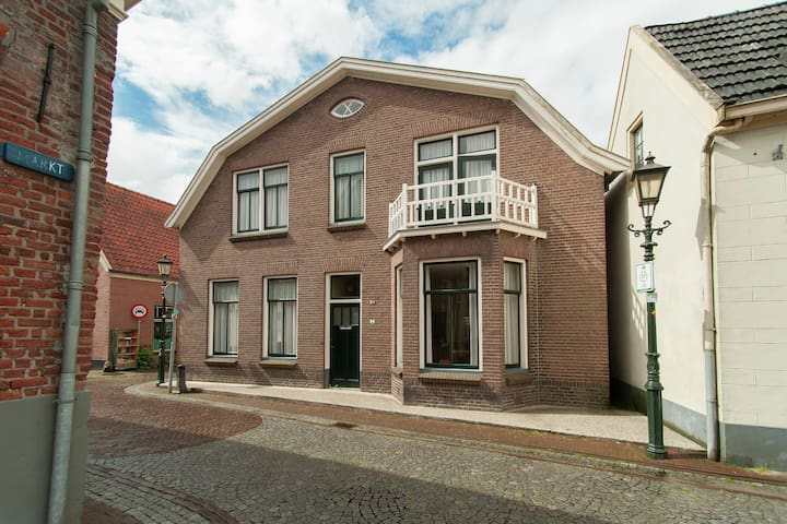 Historic home in the centre of Book Town Bredevoort in the Achterhoek.