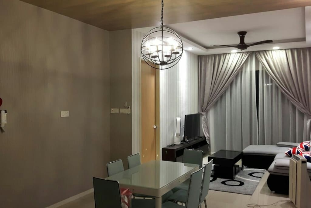 luxury living and dinning area
