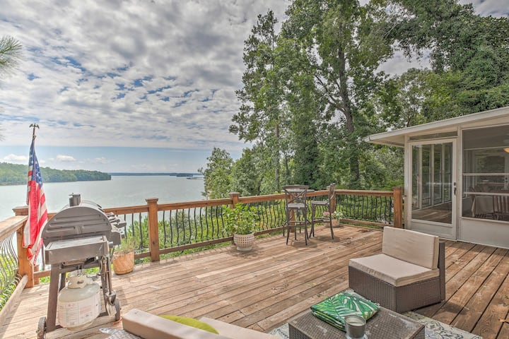 Gainesville Home on Lake Lanier w/ Shared Dock!