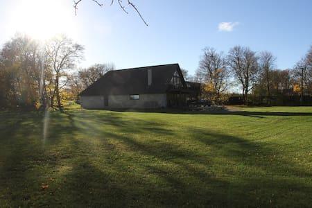 Saaremaa old barn 1841 - place to enjoy the life