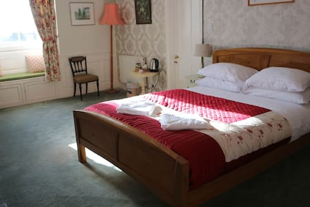 Double Room B&B in Georgian Manor House, Crowcombe