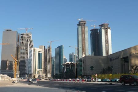 Large Apt in the heart of West bay - Doha