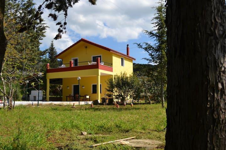 Villa in relax immersa nella natura
