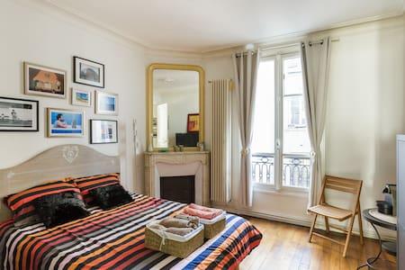 Private bedroom - Heart of Paris - Le Marais - París