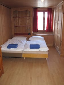 Single or Twin room Mountain view - Churwalden - กระท่อมบนภูเขา