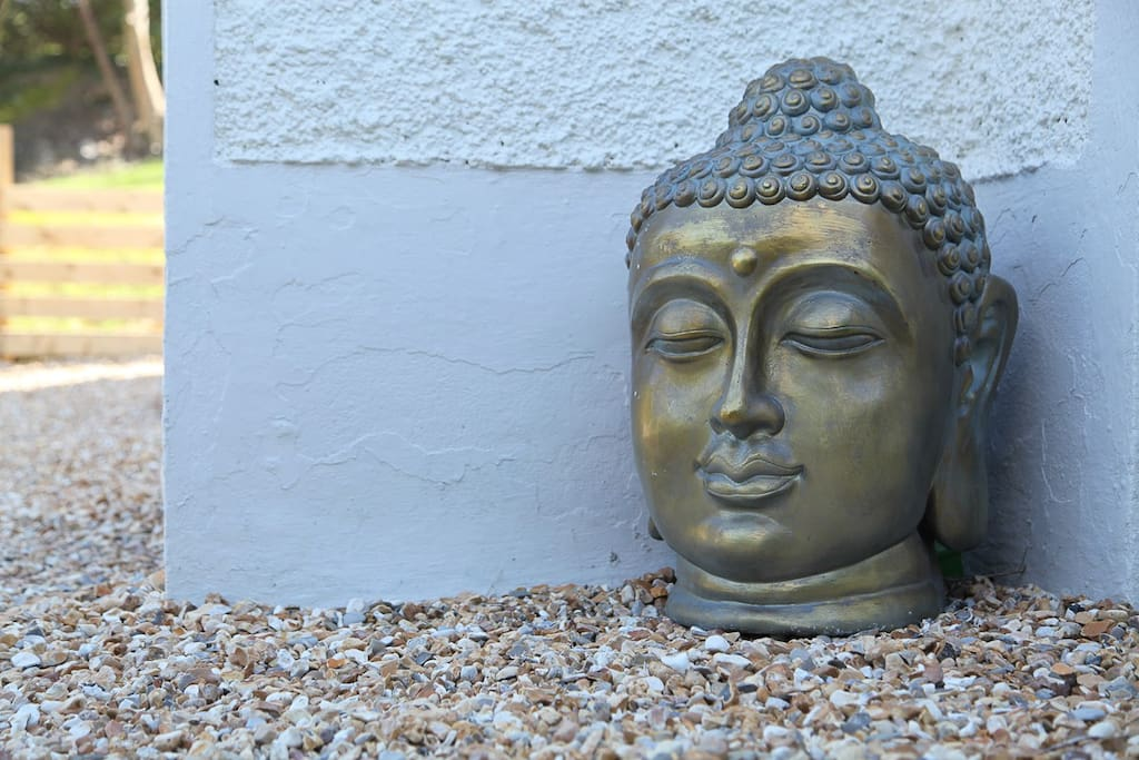 Buddha protecting our lovely property