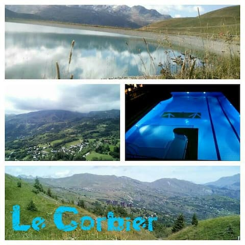 Studio any comfort all seasons - Le Corbier