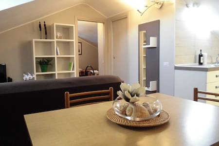Sweet Ciclyst Friedly Attic in Alba - Apartmen