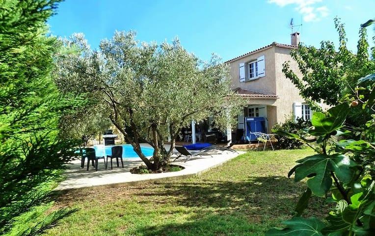 Belle villa avec piscine Marseillan - Marseillan - Villa