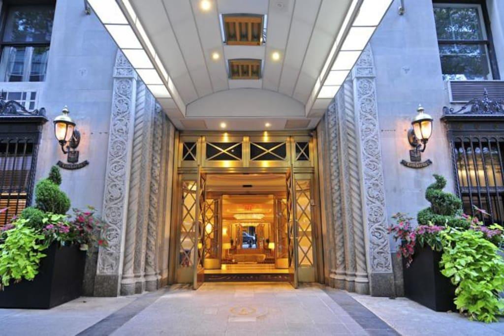 Lombardy Entrance