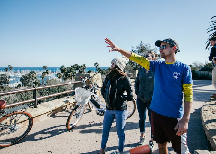 experiencing a panoramic Santa Barbara