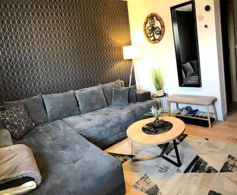 Luxury Apartment in city center 2+1 with parking