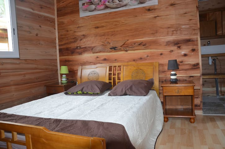 CHAMBRE ORCHIDÉE - Bras-Panon - Bed & Breakfast
