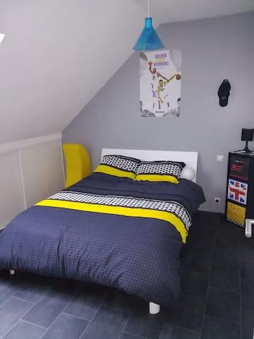 Loue 3 très belle chambres à 5MNdu circuit du MANS