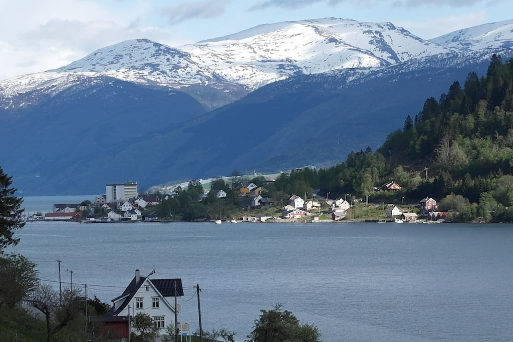 The view to Balestrand