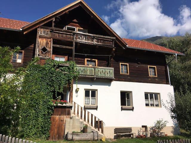 Bauernhaus im Kärntner Mölltal