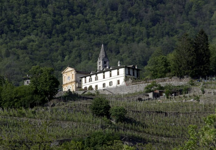 Castionetto, historical mansion with a View