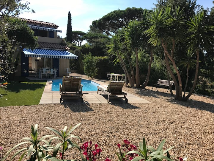House in Sainte Maxime with private swimming pool