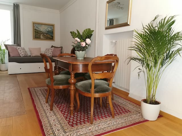 Apartment in exceptional location in Montreux with Parking!