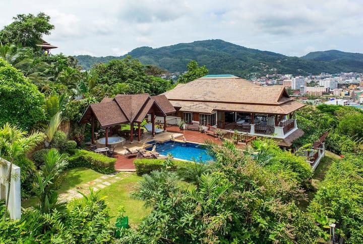 Patong Bay Seaview 4 Bedroom Villa