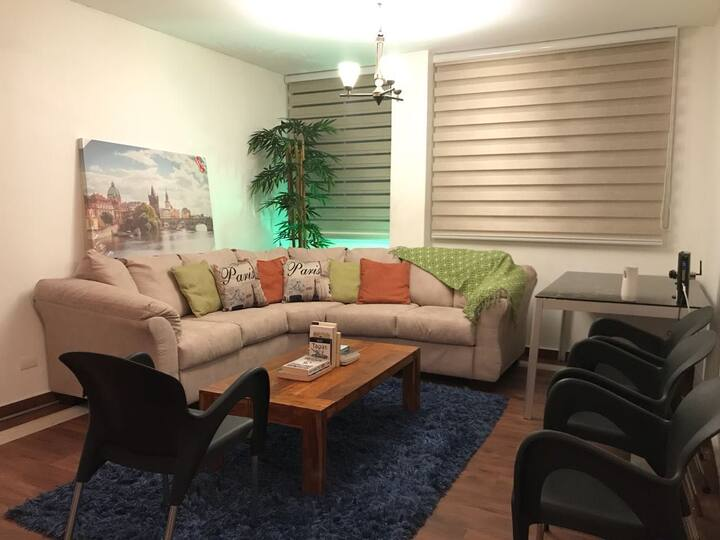 Apartamento  de 2 recamaras en Vía Porras
